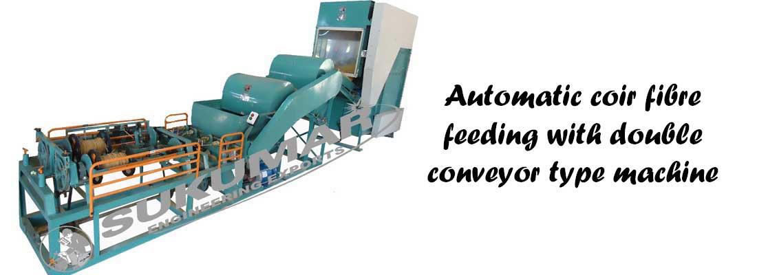 Autucoir-fibre-feeding-with-double-conveyor